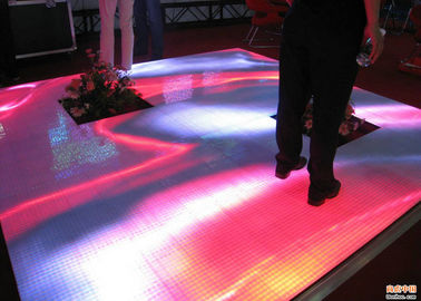 China La pantalla LED interior a todo color de Dance Floor, LED enciende para arriba las tejas de Dance Floor fábrica